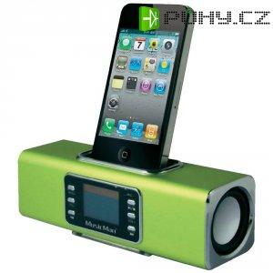 Bezdrátová sound stanice Technaxx MusicMan ® BT-X1 pro iPod/iPhone, zelená