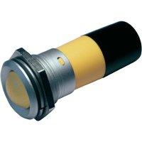 LED signálka CML 195E2230M, IP67, 22 mm, 230 V/AC, červená