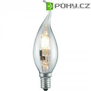 Halogenová žárovka Sygonix, E14, 42 W, 125 mm, stmívatelná, teplá bílá