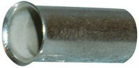 Dutinka pro kabel 10mm2 celokovová (EN10-15)