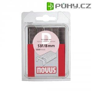 Svorky z plochého drátu Novus typ 11, 042-0385, 1200 ks