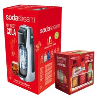 Sodastream sada JET TTN/SLV COLA + dárek 6v1