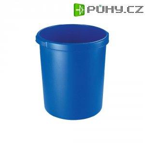 Koš na papír, modrý, 30 litrů
