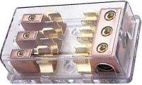 Pojistkový držák pro 3pojistky 10x38mm DOPRODEJ