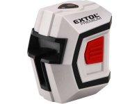 Laser liniový, křížový samonivelační 1H1V, EXTOL PREMIUM 8823301