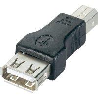 Adaptér USB 2.0, B/A, černý