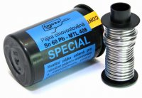 Pájka trubičková 1mm 50g 60%Sn 40%Pb+tavidlo MTL408 (Sn60Pb)