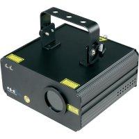 DMX laserový efekt Mc Crypt GLPS6-RGY, 230 V, červená/zelená