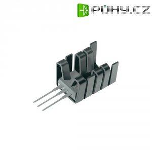 Zásuvný chladič Fischer Elektronik FK 237 SA 220 O, 19 x 14,5 x 12,7 mm, 21 K/W