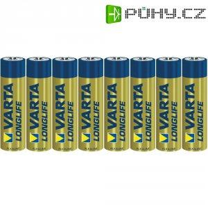 Alkalická baterie Varta Longlife, typ AAA, sada 8 ks