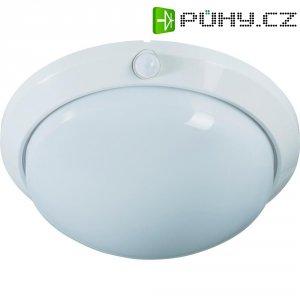 Stropní svítidlo s PIR čidlem, E27, IP44, bílá