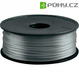Náplň pro 3D tiskárnu, Renkforce ABS175S1, ABS, 1,75 mm, 1 kg, stříbrná