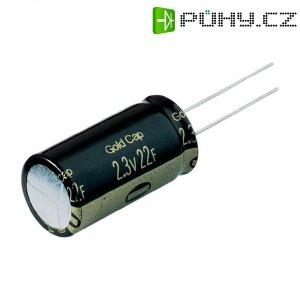 Kondenzátor elektrolytický, 22 F, 2,3 V, 30 %, 35 x 18 mm