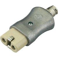 Síťová IEC zásuvka Kalthoff 344K/A/PG, 250 V, 16 A, hliník, 840015