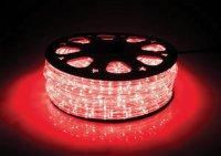 Světelná hadice LED 44m, 1056 LED, červená