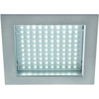 Vestavné LED osvětlení SLV LED Panel 100 8,5 W, bílá, rámeček stříbrný/šedý