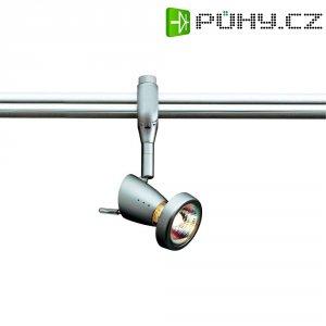 Lištové halogenové svítidlo SLV Siena, 230 V, 75 W, GU10, stříbrná/šedá