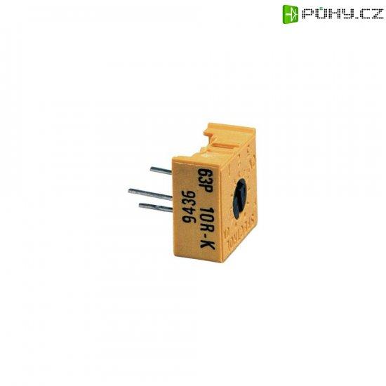 Precizní trimr lineární 0.5 W 1 kOhm 270 ° 300 ° Vishay 63 P 1K 1 ks - Kliknutím na obrázek zavřete