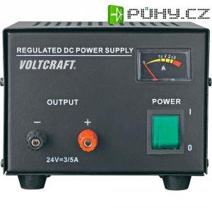 Laboratorní síťový zdroj Voltcraft FSP-1243, 24 VDC, 3A