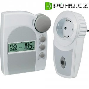 Sada bezdrátového termostatu a spínací zásuvky STR2, systém FS20, 100 m