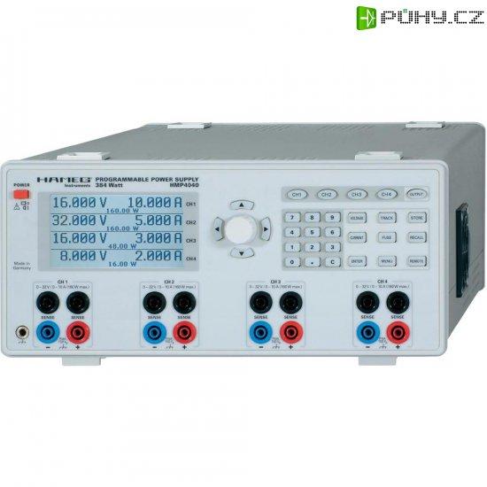 Laboratorní síťový zdroj Rohde & Schwarz HMP4040, 0 - 32 V/DC, 0 - 10 A, 384 W - Kliknutím na obrázek zavřete