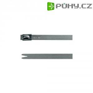 Stahovací pásek ocelový H-Tyton MBT20H-316-SS-NA-L1 1115 N 1, 521 x 7,9 mm