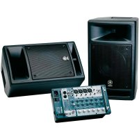 Sada PA systému Yamaha Stagepas 300, 2x 100/150 W