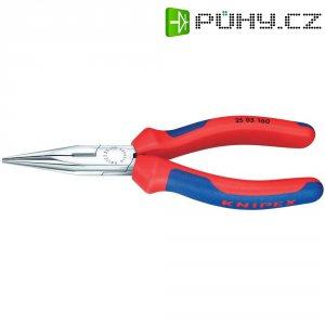 Půlkulaté kleště s břitem Knipex 25 05 160, 160 mm