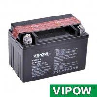 Baterie motocyklová 12V 8Ah Vipow YTX9-BS