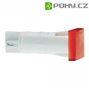 Signálka RAFI, 28 V, 10 mm, červená, čtvercová