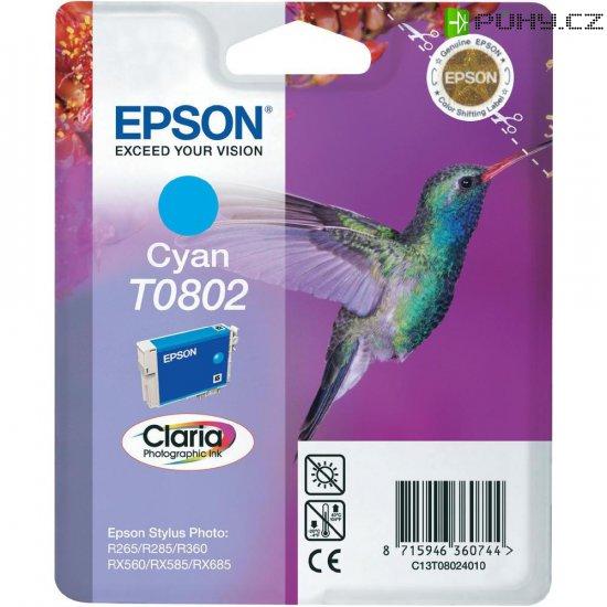 INKOUST EPSON T080240 CYAN - Kliknutím na obrázek zavřete