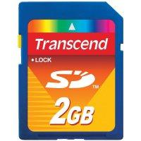 Pameťová karta SD, Transcend, 2 GB