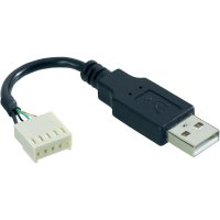 Kabelový USB-A adaptér ESKA 14193, zástrčka rovná, 1 A