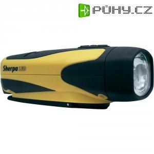 Kapesní LED svítilna s dynamem Freeplay Sherpa, žlutá/černá