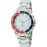 Ručičkové náramkové DCF hodinky Multiband, kov