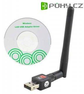 WI - FI adaptér USB s anténou