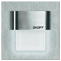 Vestavné LED osvětlení SKOFF Tango Mini, 10 V, 0,4 W, studená bílá, nerez