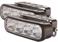 Světla pro denní svícení DRL12-1W 4xLED 12/24V
