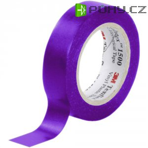 Izolační páska 3M Temflex 1500, XE-0034-1151-1, 15 mm x 10 m, fialová