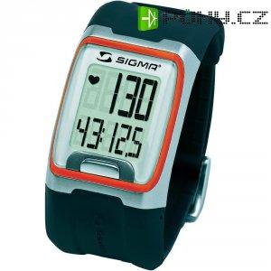 Hodinky s měřením pulzu sporttester Sigma PC 3.11, oranžová