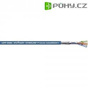 Ethernetový kabel LappKabel Unitronic, 2170296, modrá