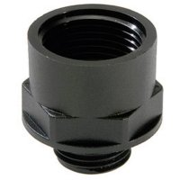 Adaptér kabelové spojky Wiska EX-KEM 12/16 (10064741), IP66, M12, černá (RAL 9005)
