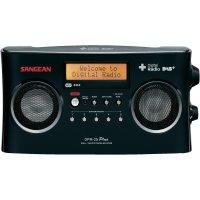 DAB+ rádio Sangean DPR-25+, FM, černá