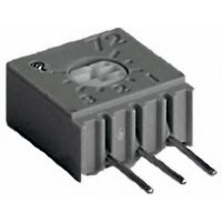 Cermetový trimr TT Electro, 2094610201, 50 Ω, 0,5 W, ± 10 %