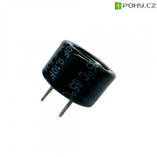 Kondenzátor elektrolytický Panasonic EECF5R5H105, 1 F, 5,5 V, 30 %, 9,5 x 21,5 mm - Kliknutím na obrázek zavřete