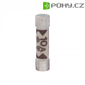 Jemná pojistka ESKA superrychlá TDC180 10 A, 240 V, 10 A, keramická trubice, 6,4 mm x 25.4 mm