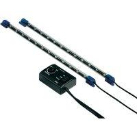 Mini LED osvětlení Hama, 31 cm, reagující na hudbu, modré, 2 ks