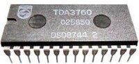 TDA3760 - videoprocesor pro VHS, DIL28