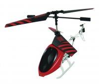 Bluetooth helikoptéra BeeWi StingBee s terčem, podpora iOS a Android, červená