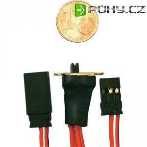 Nano vypínač s Futaba konektory Modelcraft, 0,14 mm²